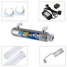 12W (4LPM) Ultra Violet UV LUXE Water Steriliser Treatment System