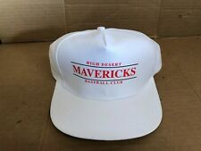 VINTAGE HEAD TO TOE HIGH DESERT MAVERICKS BASEBALL CLUB WHITE SNAPBACK HAT