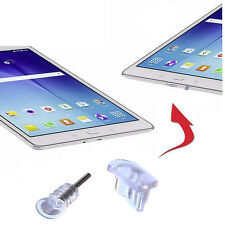 4 x antipolvere TAPPO Android 3g PHONE TABLET MICRO USB Ingresso TRASPARENTE