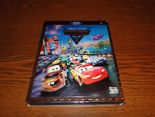 Cars 2 3D + 2D Blu-ray + DVD + Digital Copy WITH SLIPCOVER