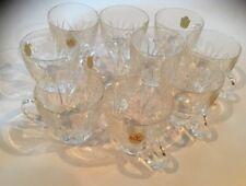 10 Brand Nachtmann Bleikristall glasses