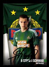Stefan Schwab Autogrammkarte Rapid Wien 2016-17 Original Signie+A 144559