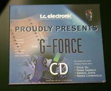 TC Electronics - G Force CD Guitar Multi Effects CD 22 Tracks Vai Zappa Gambale