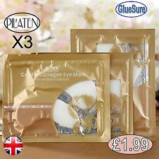 Collagen Under Eye Mask Gold Crystal Dark Circles Anti Wrinkle Ageing Eyelid Pad