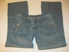 WOMEN'S ROCK & REPUBLIC SIOUXSIE FLARE JEANS TAG 29 (30X31) VGUC