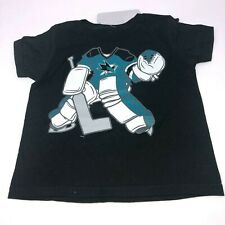 NWT San Jose Sharks Toddler Kids Sharks Hockey T-Shirt 3T