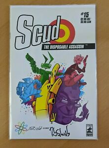 Scud The Disposable Assassin #15 - Signed by Rob Schrab
