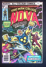The Man Called Nova #1 Bronze Age Marvel Comics 1st Appearance F+