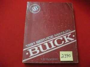 1991 FACTORY ISSUED BUICK LeSABRE CHASSIS & BODY SERVICE MANUAL ALL MODELS VGC.