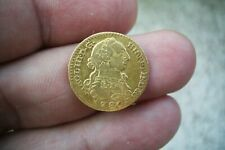 A66* OLD US GOLD 1 ESCUDO 1780 MADRID MINT SPANISH COLONIAL