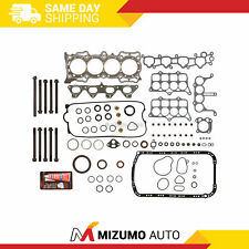 Graphite Full Gasket Set Head Bolts Fit 91-96 Honda Prelude S Accord 2.2 F22A1