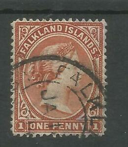 FALKLAND IS VICTORIAN ONE PENNY RED,SEE SCANS