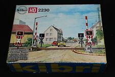 W131 KIBRI Train Ho Maquette B-2230 Passage a niveau diorama railroad crossing