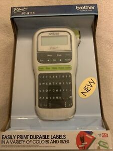 Brother P-Touch PT-H110 Easy Portable Label Maker, Lightweight, QWERTY Keyboard