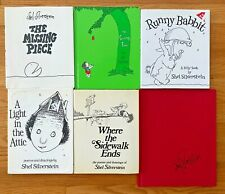 Lot 6 SHEL SILVERSTEIN Poetry HB Books Where the Sidewalk Ends Giving Tree