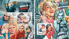 Marilyn Monroe Cinema Music Hollywood Movies Guinea-Bissau MNH stamp set