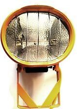 500W Outdoor Work Halogen Fixed Floodlight Yellow 110V Lamp Included 3M FDL-118R
