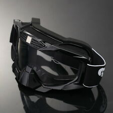Adult MX Off-Road Racing ATV Ski Snow Sports Goggles Glasses Eyewear Clear Lens
