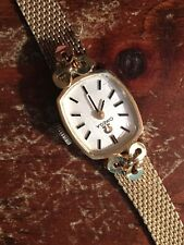 Lady's 14K yellow gold Omega watch