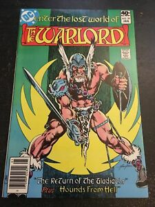 The Warlord#29 Incredible Condition 9.2(1980) Mike Grell Story And Art!!