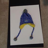 Adult Corona Extra winter hat blue/white/yellow