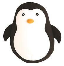 Kikkerland doux en peluche pingouin Zip & Flip microbilles Voyage Cou Oreiller Cadeau