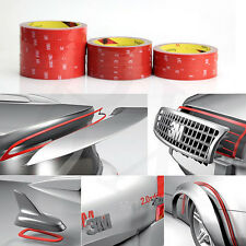 2X 3M Auto Truck Car High Strength Double Sided Foam Attachment Tape 6mm*3Meters