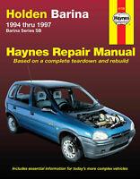 Holden Barina (1994-1997) Haynes Workshop Service Workshop Service Repair Manual