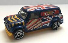 Hot Wheels '67 Austin Mini Van Blue 2014 Art Cars LOOSE Diecast Vehicle Toy