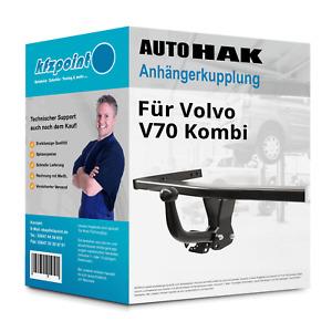 Für Volvo V70 Kombi 96 I Typ LV Brink Anhängerkupplung starr /& 7poliger E-Satz