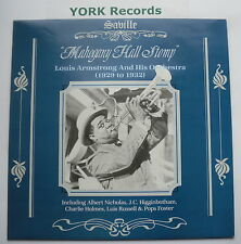 LOUIS ARMSTRONG - Mahogany Hall Stomp - Excellent Con LP Record Saville SVL 198