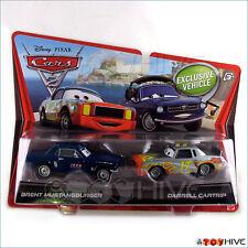 Disney Pixar Cars 2 Brent Mustangburger Darrell Cartrip diecast vehicle