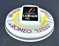"""LUBIAM - ROMEO - CATANIA - POSACENRE - VINTAGE - MAIOLICA - """" CERAMICA TITANO """""""