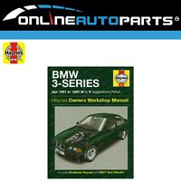 Haynes Car Repair Manual Book BMW E36 4/1991-1999 316i 318i 320i 323i 325i 328i