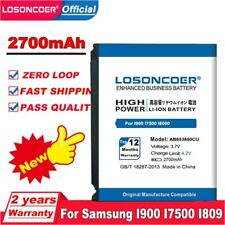 LOSONCOER 2700mAh AB653850CU Battery For Samsung I900 I7500 I809 SCH-i220 I225