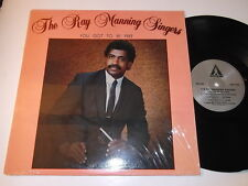 The Ray Manning Singers: You Got To Be Free LP-Morrada MZS-300 Black Gospel Soul