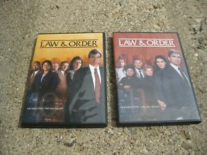 Law & Order: The Original Series Complete Seasons 10 + 11 DVD Sets 10th 11th