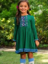 NWD Matilda Jane Family Tree Dress Lap Dress make believe size 6 Defect (1021