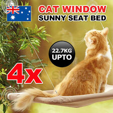 4X Comfortable Cat Window Bed Sunny Seat Pets Wall Home Hammock Cover Washable