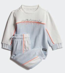 ADIDAS ORIGINALS INFANT TODDLER UNISEX PREMIUM QUALITY CREW SWEATSHIRT TRACKSUIT