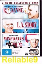 Steve Martin - Roxanne+L.A. Story+Mixed Nuts Collector's pack 3DVD Region4 AUS