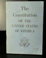 1965 Printing: The Constitution of the United States of America Booklet