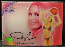 PEGGY TANDUS - 2014 BENCHWARMER NATIONAL - #28 Signature Auto Signed CARD