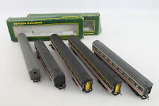 More details for 5 x vintage intercity carriages inc. boxed replica railways, hornby etc oo gauge