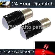 2X 207 1156 BA15s CANBUS ERROR FREE RED CREE LED TAIL REAR LIGHT BULBS TL202603