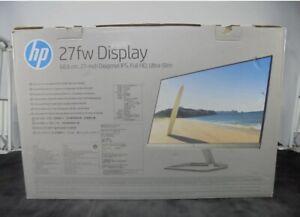 "HP 27fw Full HD 27"" IPS LCD Monitor"