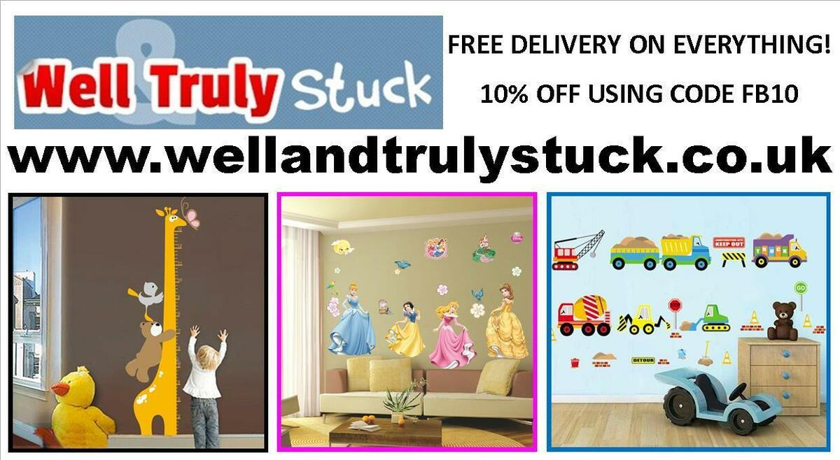 Well and Truly Stuck Stickers