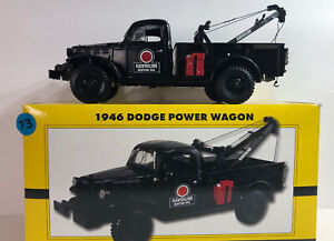 2006 ERTL 1946 DODGE POWER WAGON Havoline Oil Wrecker Limited Edition 1:25 Scale