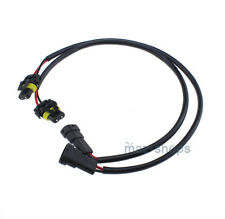 2X 35W 55W 100W 9005/9006 HID Ballast Extension Cable male female Connector