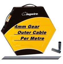 Jagwire Reinforced Bike Gear Outer Cable Housing Ice Grey 4mm Diameter